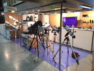 APM Telescopes Messestand in Paris